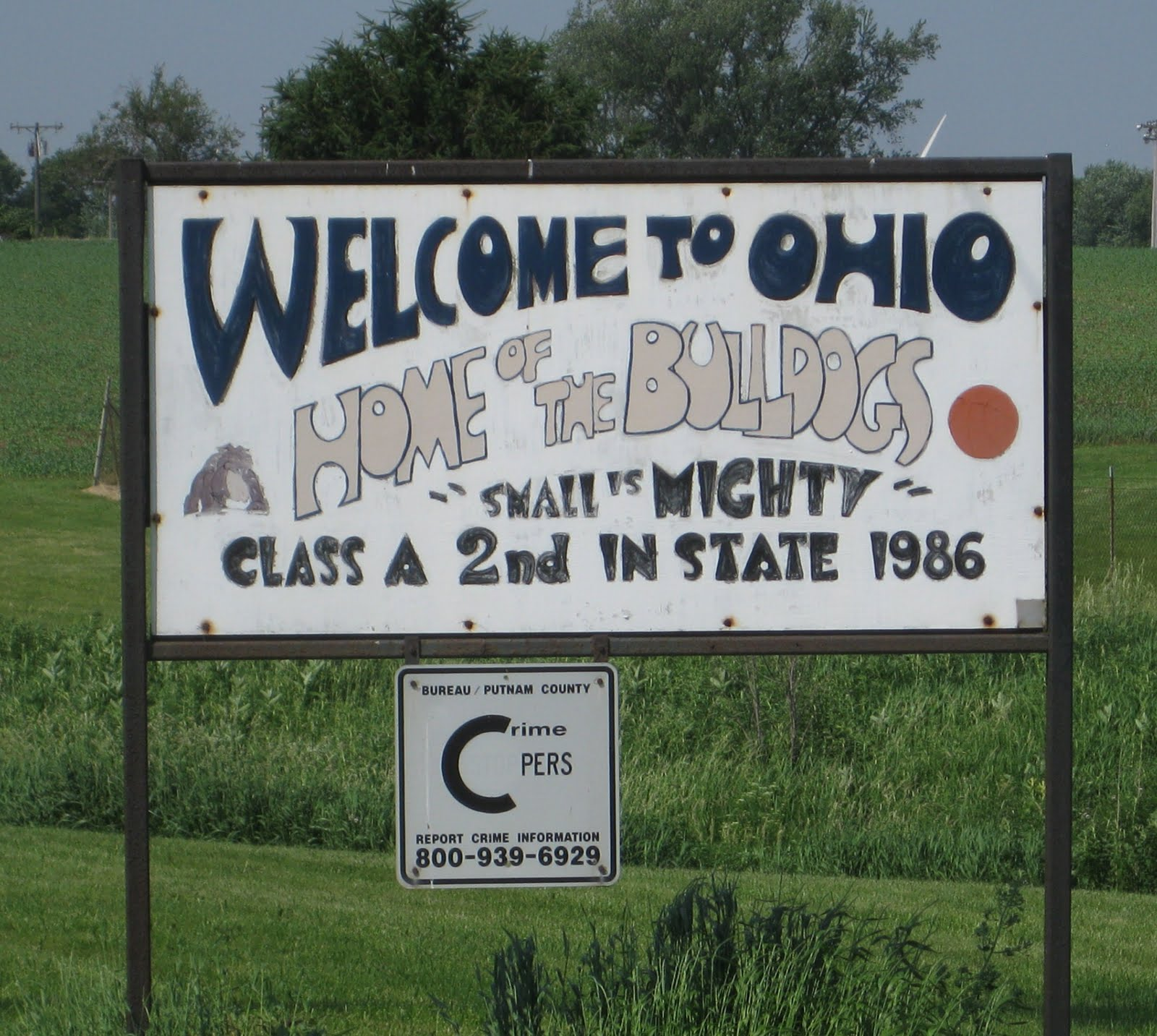 Illinois bureau county ohio - Like Princeton The Subject Of My Previous Post And Walnut The Next Stop It S In Bureau County Ohio With 540