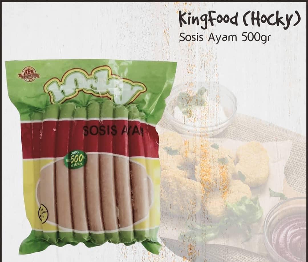 Sosis Ayam Merk Hoky 500 Gram