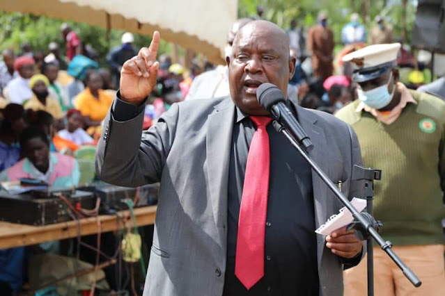 Nyamira Governor John Nyagarama photo