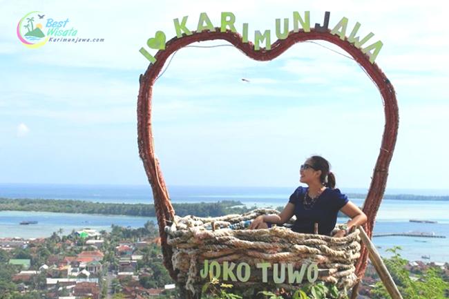 Bukit Joko Tuo Wisata Alam di Karimunjawa