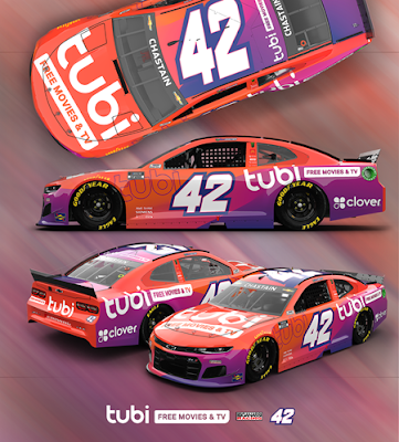 FOX Entertainment's Free Streaming Service Tubi Heads to NASCAR with Chip Ganassi Racing