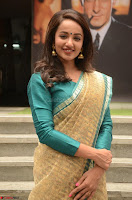 Tejaswi Madivada looks super cute in Saree at V care fund raising event COLORS ~  Exclusive 072.JPG