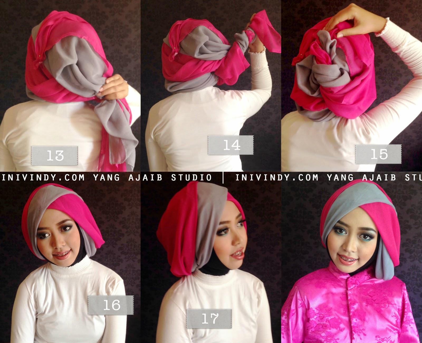 Tutorial Hijab Wisuda Untuk Pipi Chubby Tutorial Hijab Paling