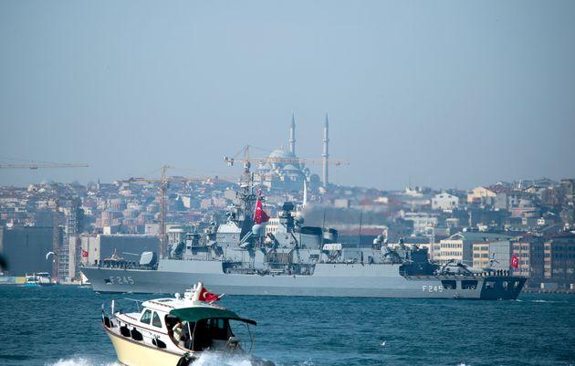 Επιδίωξη θαλάσσιας κυριαρχίας από την Τουρκία