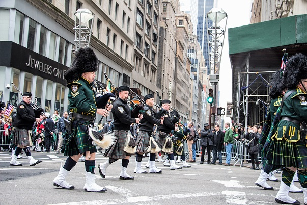 St Patricks's Day Parade NYC