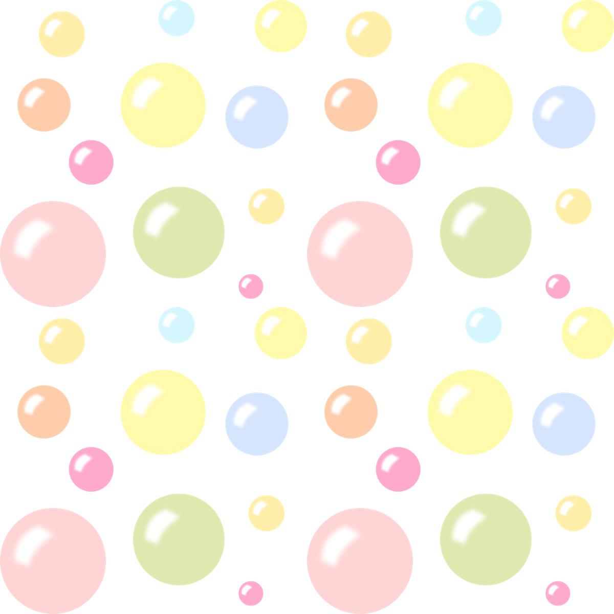 Free Digital Bubbles Scrapbooking Paper