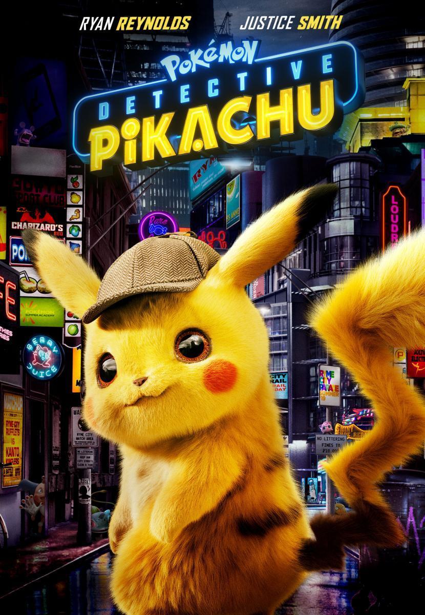 Download Pokemon Detective Pikachu (2019) Full Movie in Hindi Dual Audio BluRay 480p [400MB]