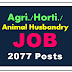 2077 Posts of Livestock Assistant Recruitment 2018