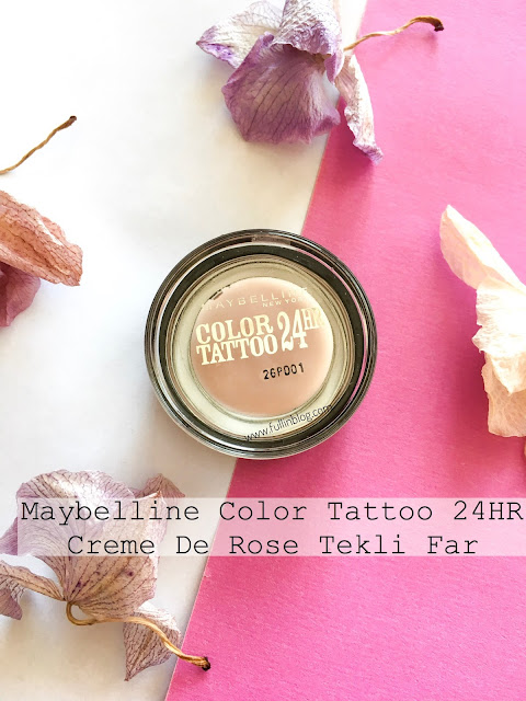 maybelline color tattoo 24hr creme de rose
