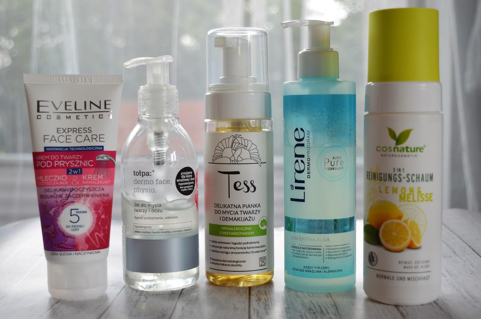 5 godnych polecenia kosmetyków do mycia twarzy