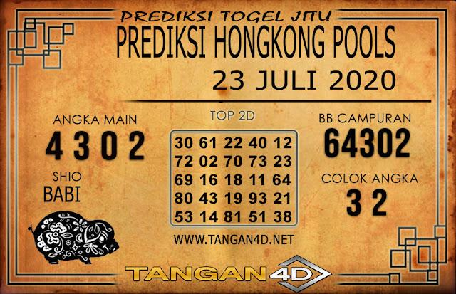 PREDIKSI TOGEL HONGKONG TANGAN4D 23 JULI 2020