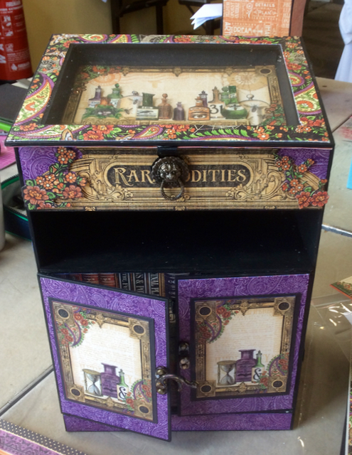 Rare Oddities Bureau by Denise at Clare Charvills Crafters Retreat
