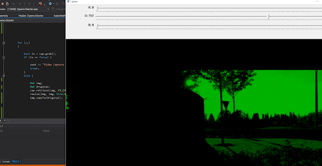 opencv colors channels