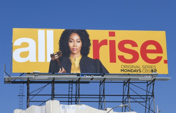 All Rise series premiere billboard