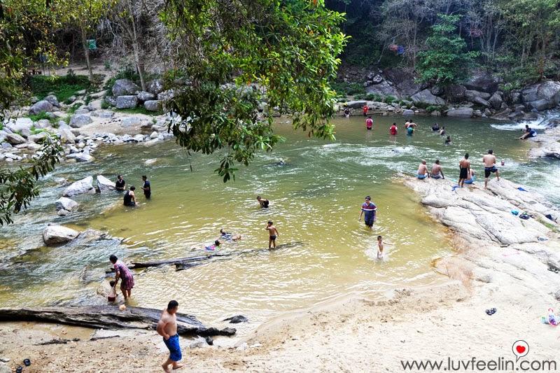 Bentong Chamang Waterfalls