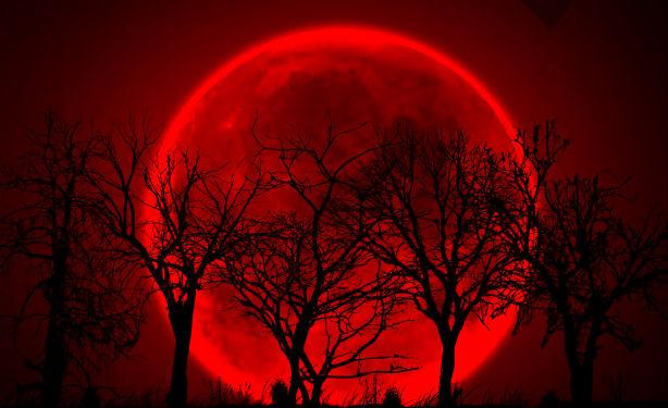 La luna de sangre