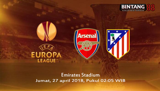 Prediksi Arsenal vs Atletico Madrid 27 April 2018