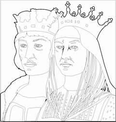 Recursos Y Actividades Para Educación Infantil Dibujos Reyes Católicos Cristobal Colon
