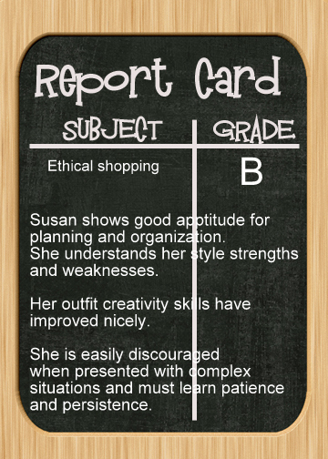 simulation of school report card