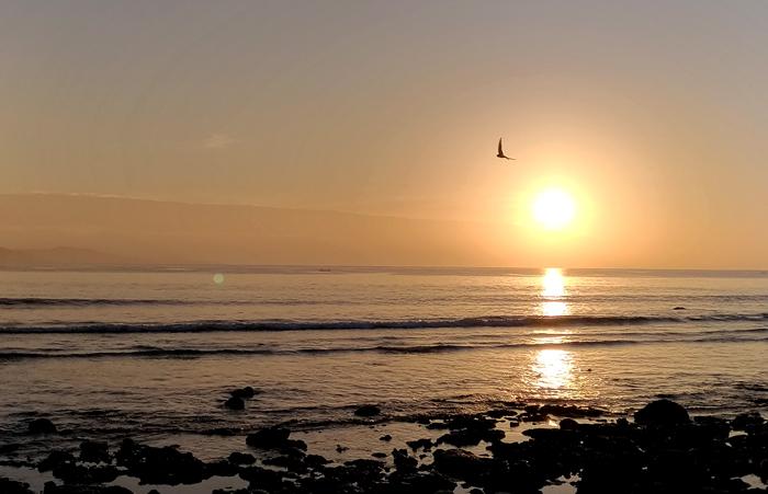 Sunrise in Dahican Beach is short of amazing.