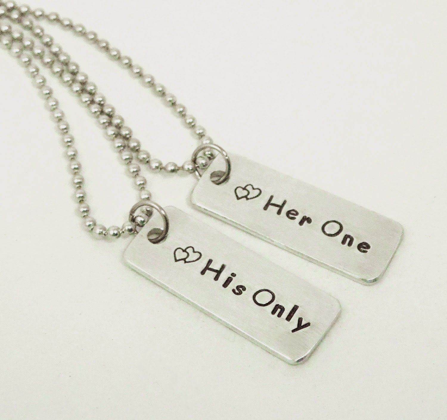 Stamped personalized wedding gifts, jewelry, key chains ...