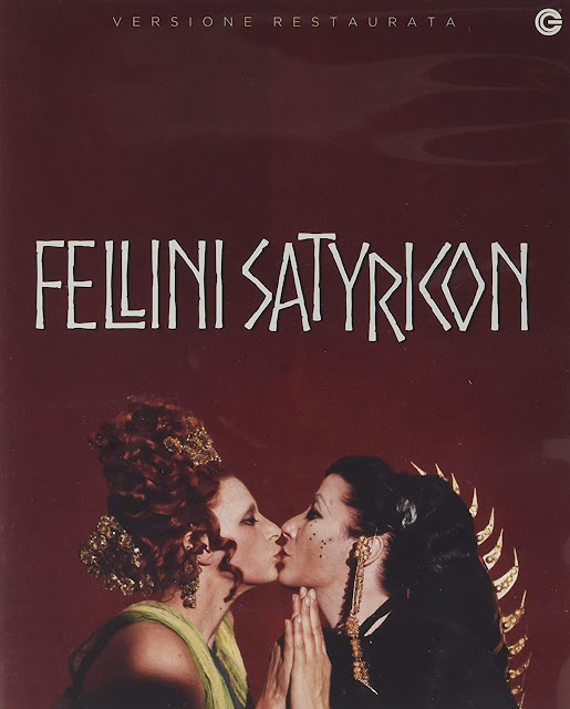 Fellini Satyricon Blu-Ray