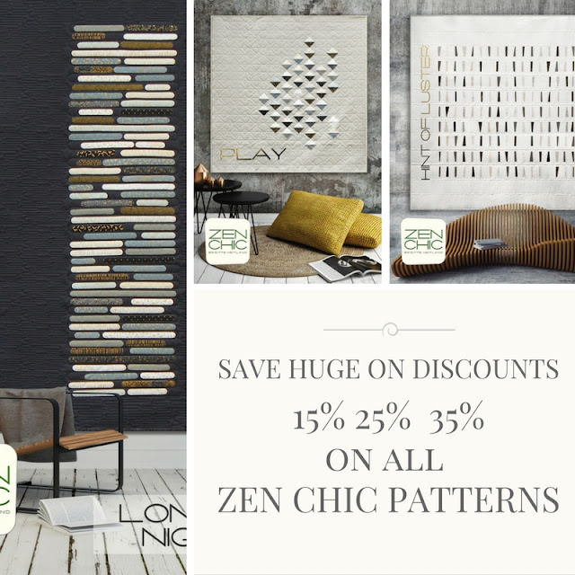 Zen chic pattern discount