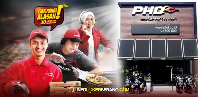 Lowongan Kerja Crew Cashier & Crew Delivery PHD Tangerang
