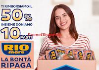 """Rio Mare """"La bontà ripaga"""" : ricevi il rimborso del 50% di quanto speso! Operazione di cashback"""