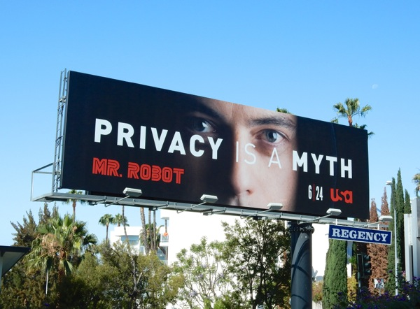 Mr Robot series premiere billboard