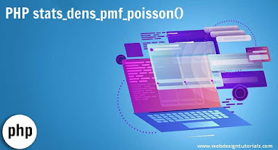 PHP stats_dens_pmf_poisson() Function