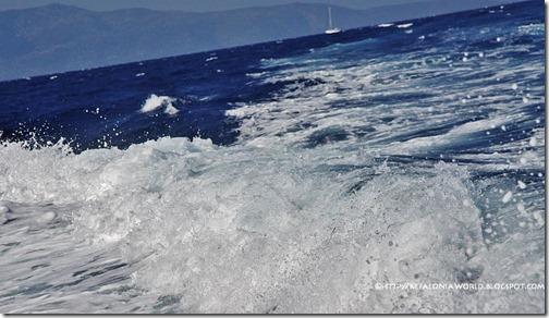 Kefalonia-Ithaca strait in September