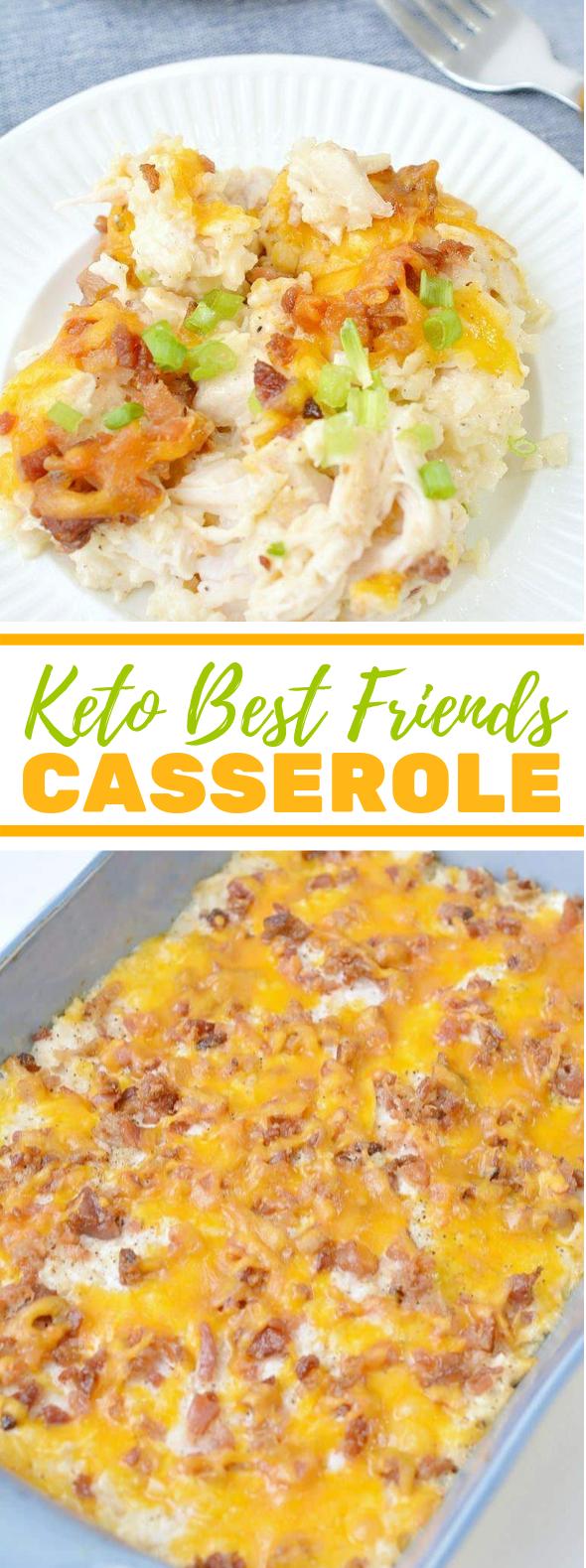 KETO BEST FRIENDS CASSEROLE #healthy #lowcarb