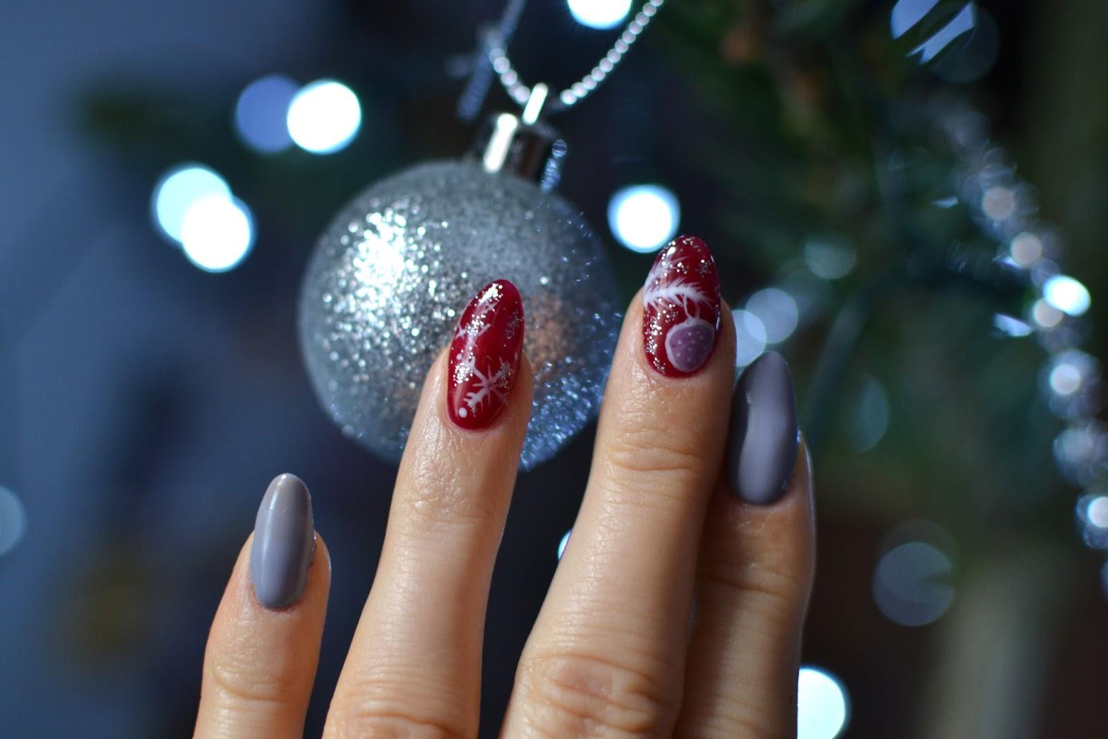 Paznokcie świąteczne Propozycje Bette Fashion