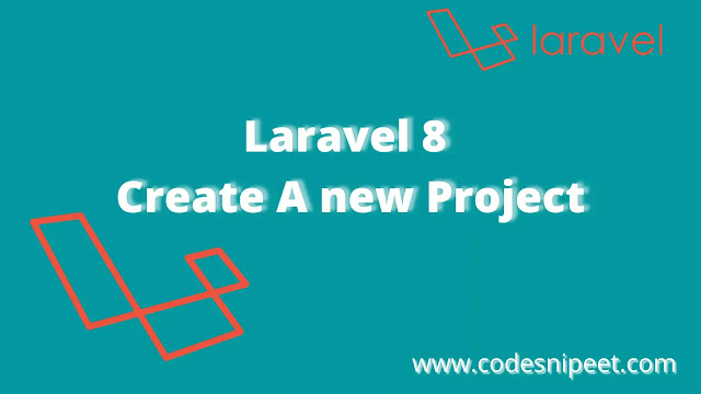 Create a Laravel New Project