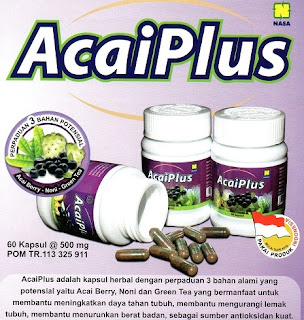 acaiplus pelangsing herbal nasa