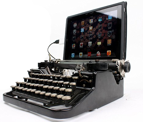 Background of Typewriters, Inputing, not to mention Qwerty Key-boards