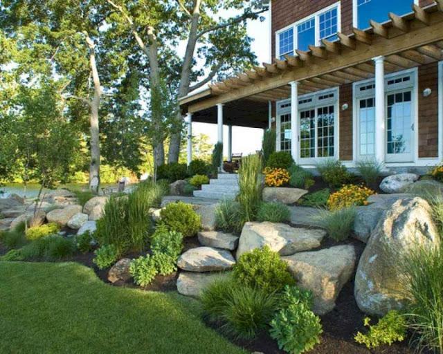 Fabulous Front Yard Rock Garden Ideas