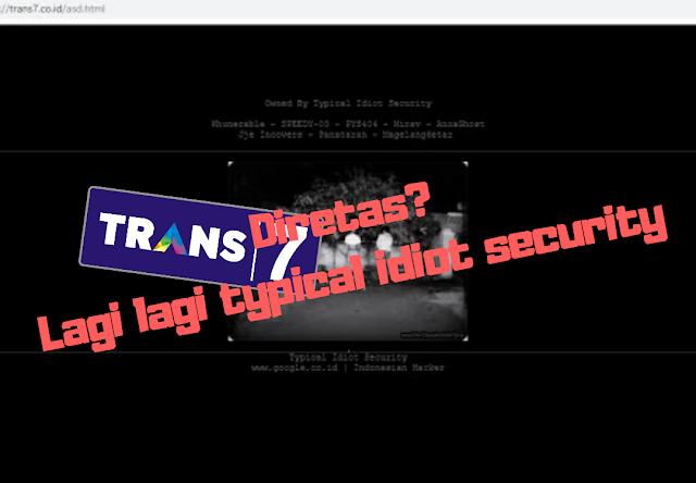 Situs Resmi Trans7 Diretas Hacker