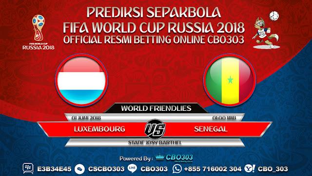 Prediksi Bola Luxembourg VS Senegal 01 Juni 2018