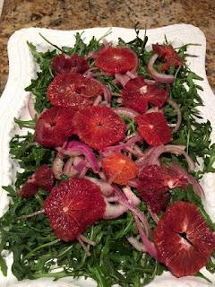 blood orange salad wine pairing