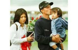 Mike Weir With Ex Wife Bracia And Their Daughter