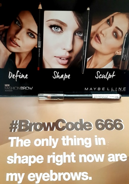 Maybelline Fashion Brow Cream Pencil - Review, Price, Swatches