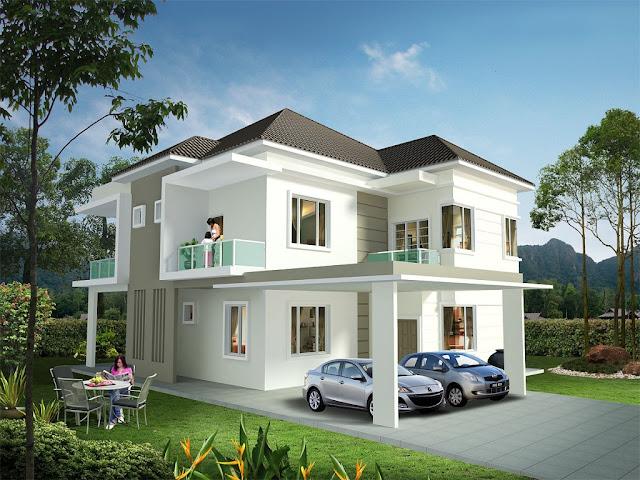 Single Floor Home Front Design