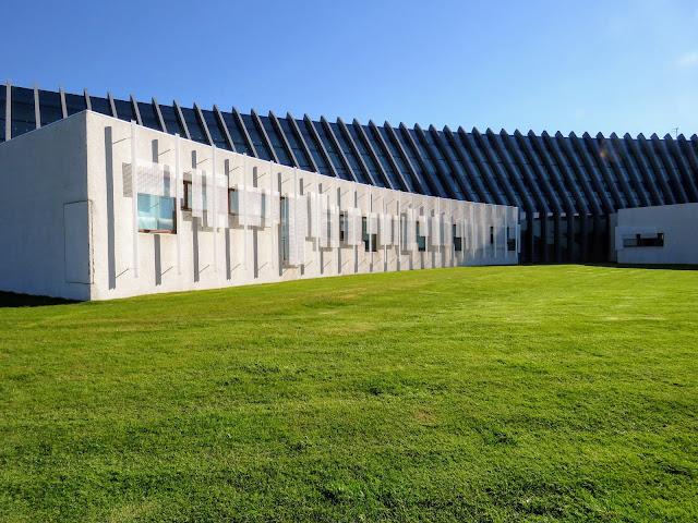 Norræna húsið (Nordic Cultural Center) in Reykjavik Iceland