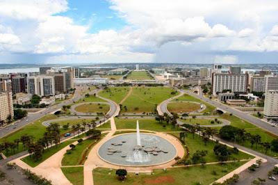 linda vista do estado do Distrito Federal