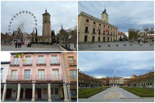 que ver Plaza Cervantes Alcala de Henares