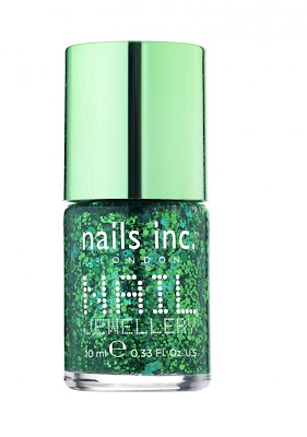 Naile inc green nail jewellery