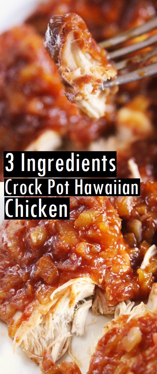 THE BEST CROCKPOT HAWAIIAN CHICKEN RECIPE