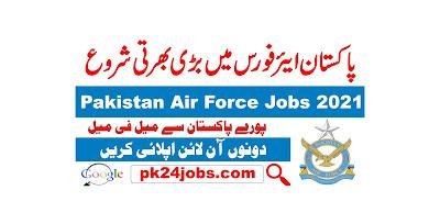 PAF Jobs 2021